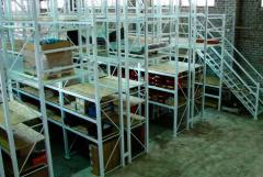 Delivery and assembly of metal office furniture