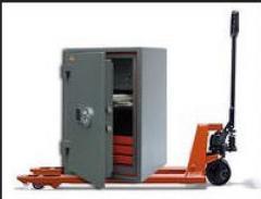 Transportation of safes