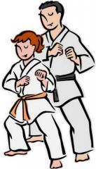 Sections of taekwondo in kindergarten