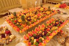 Catering buffet receptions