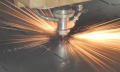 Works on cutting and processing of metal