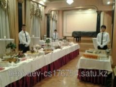 Services of coffee of a break in Almaty