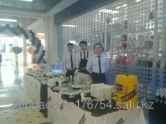 Buffet receptions in Almaty