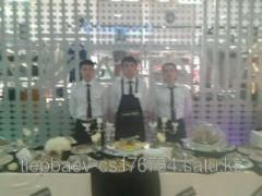 Services of a catering in Almaty