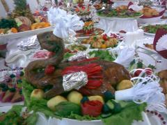 Organization of Buffet receptions