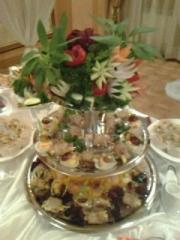 The organization of Buffet receptions in Almaty