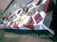 Buffet receptions for any action