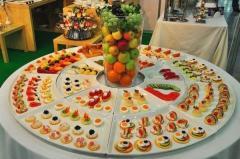 Banquets Coffee breaks Buffet receptions