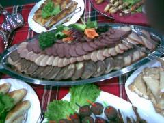 Service of exit banquets