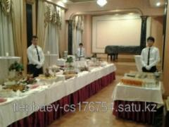 Buffet receptions barbecue coffee breaks banquets