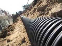 Монтаж централизованной канализации бытовых, производственных и ливневых стоков