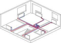 Проектирование внутренних систем отопления, включая электрическое