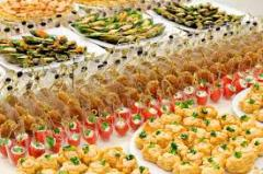 Catering (service by food)