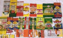 Production of soft packaging and packages for