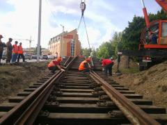 Reconstruction of access and intra factory railway