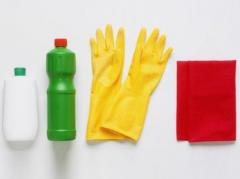 Cleaning service of apartments