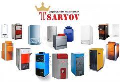 Монтаж котлов и систем отопления в Усть-Каменогорске под ключ!