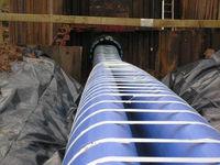 Плотная подгонка ПЭ труб