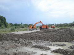 Ликвидация последствий чрезвычайных ситуаций текущий ремонт и восстановительные работы защитно-регулирующих дамб расположенных в поселке Жанашар на реке Талгар в Талгарском районе Алматинской области