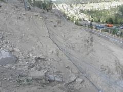 Ликвидация последствий ЧС природного характера, а именно текущий ремонт и укрепление скальных откосов автодороги «Медеу-Шымбулак»