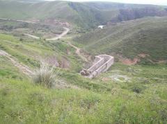 Бестюбинское водохранилище. Мойнакская ГЭС на р.Чарын