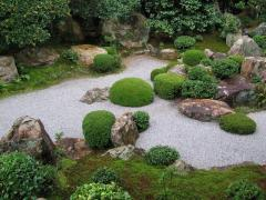 Device of the Japanese garden