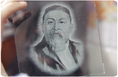 Engraving on glass