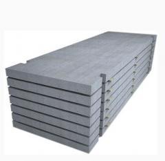 Испытания бетонной плиты