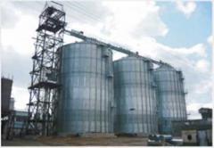 Construction of elevators and granaries