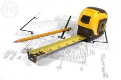 Technology design of buildings and constructions