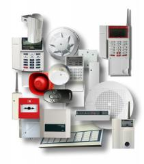 Installation of the alarm system on a radio