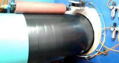 Изготовление труб с однослойным антикоррозион