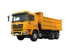 El alquiler del camión basculante SHACMAN (SHAANXI) (2013 del s.)