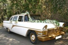 Hire of a rariteny car on a wedding