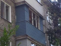 Repair, warming and glazing of balconies or