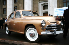 Hire of a retro of the GAZ car-20 Victory