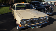 Hire of a retro of the GAZ car 24 Volga - a taxi