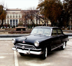 Hire of a retro of the car Gas 21 Zhukovka