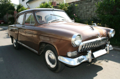 Hire of a retro of the car Gas 21 Volga 1959.