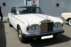 Hire of a retro of the Rolls Royse car