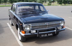 Hire of a retro of the GAZ car-24 Volga