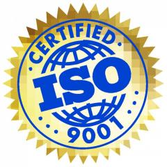 The certificate of ISO to Semey