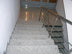 Services in Facing of steps granite