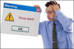 Removal of viruses, protection of the computer