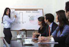 Organization of promotion actions, presentations,