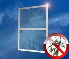 Repair of anti-mosquito grids