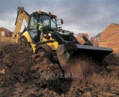 Rent of the excavator in Almaty