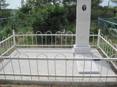 Installation of monuments marble and granite on