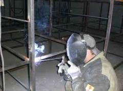 Электро и газосварочные работы