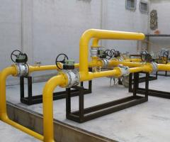 Design of complexes of gas supply